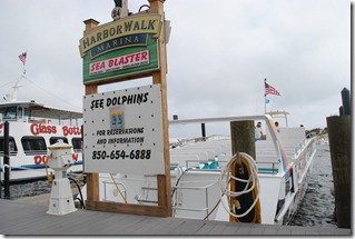 The Sea Blaster at Port